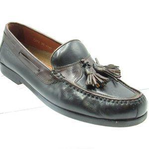 Johnston & Murphy Size 11 M Black Loafer C3A D33